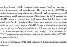 International, Multi-Center Standardization of Acute Graft-Versus-Host Disease Clinical Data Collection: A Report from the MAGIC Consortium