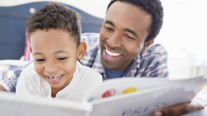 Young Children & Infants Read to by Parents Have Stronger Vocabulary Skills