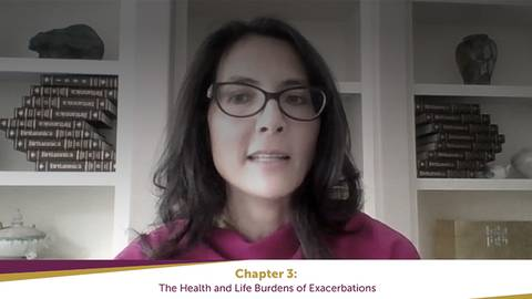 video The effect of exacerbations can go beyond the lungs.  Learn about how else patients with COPD are impacted. for Segment 11655