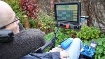 Eye-Driven Wheelchair Gives Quadriplegics More Independence