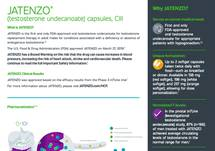 JATENZO® Fact Sheet