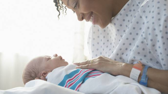 COVID-19 Control Measures Shorten Hospital Stays for Moms, Babies