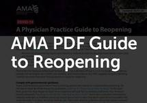 AMA PDF Guide to Reopening