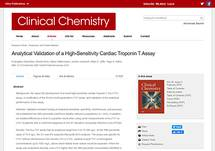 Analytical Validation of a High-Sensitivity Cardiac Troponin T Assay