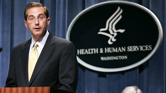 Trump Picks Alex Azar to Lead the Health and Human Services Department