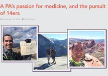 A PA's passion for medicine, and the pursuit of 14ers
