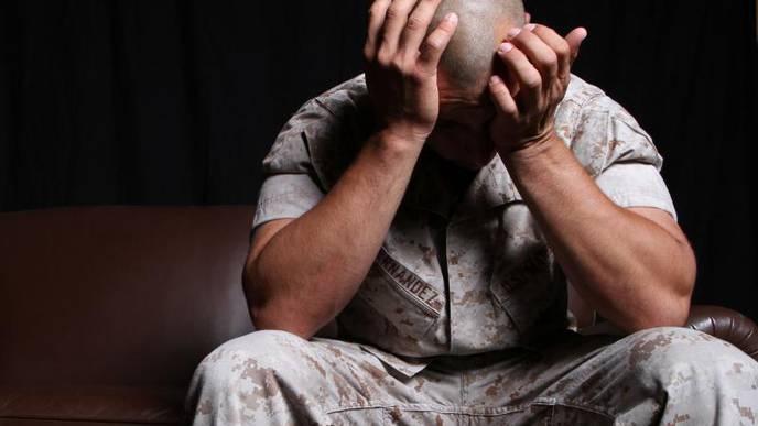 Tough Veneer Could Complicate PTSD in Veterans