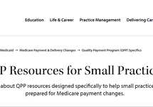 QPP Resources for Small Practices