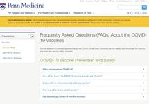 Frequently Asked Questions (FAQs) About the COVID-19 Vaccines