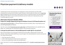 Physician Payment & Delivery Models