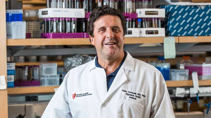 Blocking IL1α Protein Decreases Severity of Inflammation in Crohn's Disease
