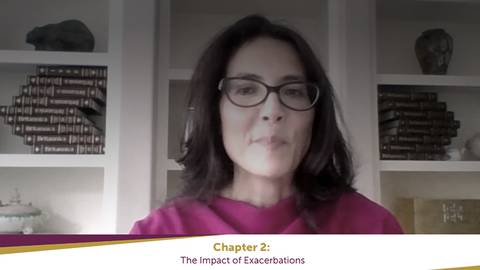 video Learn about the clinical impact as Dr. Han explores the data on how exacerbations can impact patients with COPD. for Segment 11655