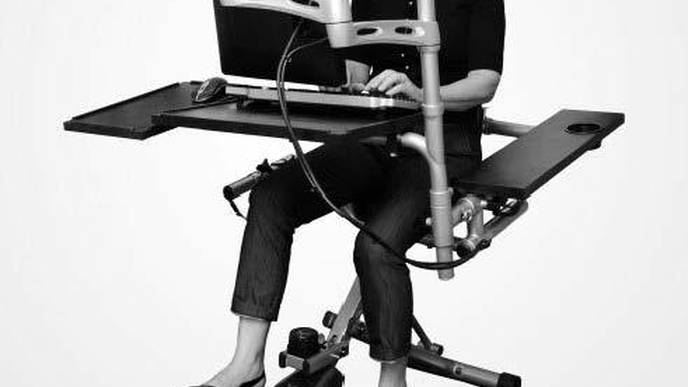 Study: Pedal Desks Could Help Address Health Risks in Sedentary Workers
