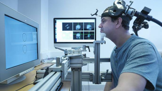 Repetitive Transcranial Magnetic Stimulation Doesn't Improve Fibromyalgia Pain
