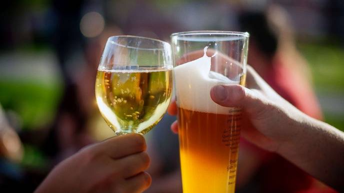 Study: Wine Before Beer, or Beer Before Wine? Either Way, You'll Be Hungover