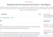 Remdesivir for the Treatment of Covid-19 — Final Report