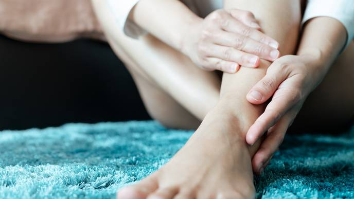 Comparing Clinical vs Ultrasound Findings of Ankle Pain in RA