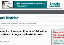 Factors Influencing Physician Practices' Adoption of Behavioral Health Integration in the United States