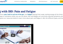 Living with IBD: Pain and Fatigue