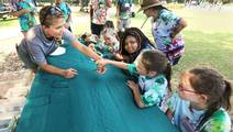 Rising above disease and into well-being at camp