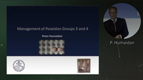 Management of POSEIDON Groups 3-4