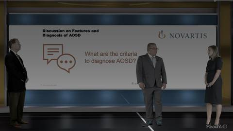 video What Are the Criteria to Diagnose AOSD? for Segment 12214
