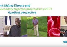CKD and Secondary HPT: Drew's Story