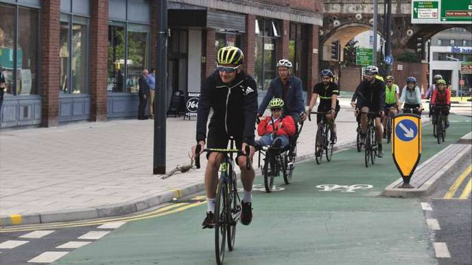Walking & Cycling to Work Linked with Fewer Heart Attacks