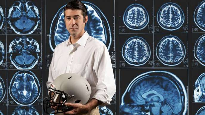 Study Finds Routine Hits Playing Football Cause Damage to the Brain