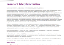 Kcentra® Important Safety Information