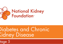 Diabetes and Chronic Kidney Disease Stages 1-5