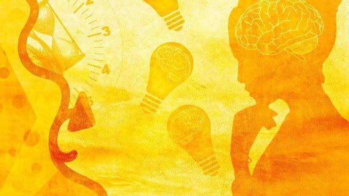 The Sensitive Brain at Rest