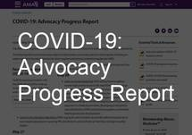 COVID-19: Advocacy Progress Report