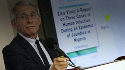 NIH's Dr. Anthony Fauci on Zika's Origins and Spread