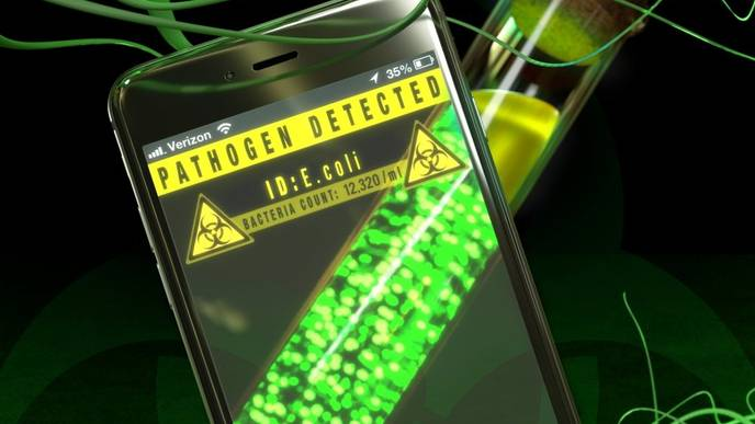 Smartphone, M.D.: App IDs Bacteria in Just One Hour
