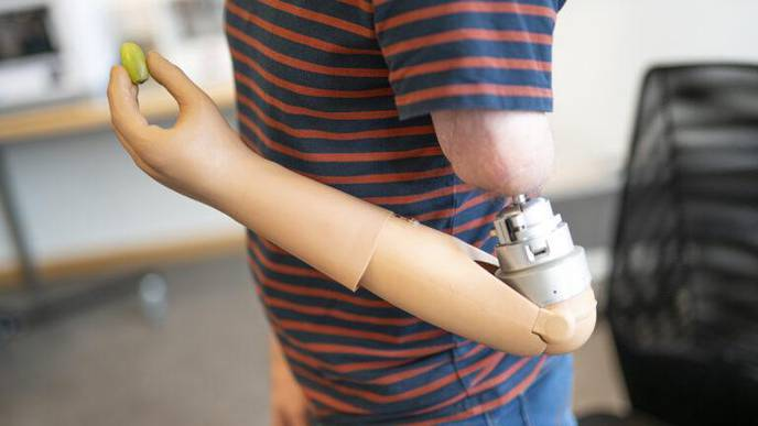 Mind-Controlled Prosthetic Arm Enables Patients to Feel the Objects They Grip