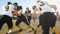 Even Mild Football Head Hits Can Harm Vision
