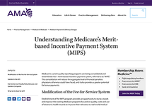 Understanding Medicare's Merit-based Incentive Payment System (MIPS)