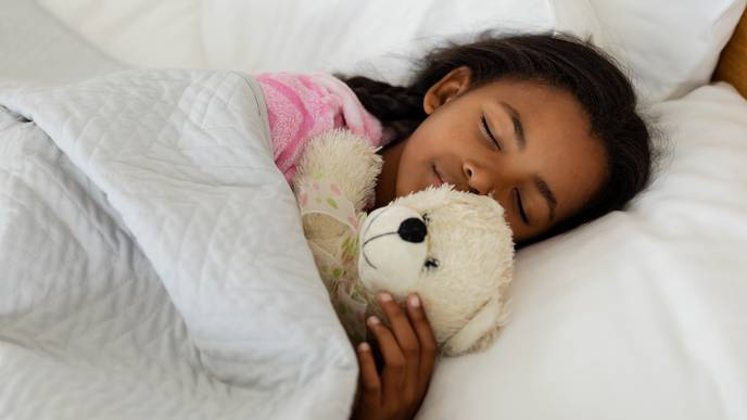 Only Half of Children Get Enough Sleep During the Week