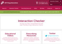 HEP Drug Interactions