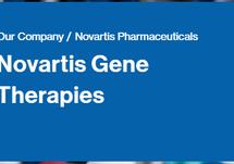 Novartis Gene Therapies Website