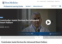 Video: Ventricular Assist Devices for Advanced Heart Failure