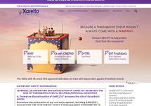 XARELTO® Healthcare Professional Website