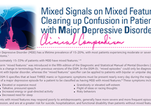 Clearing up Confusion in Patients with MDD