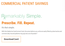 Commercial Patient Savings