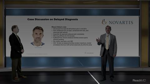 video Case Review 1 – Delayed Diagnosis in axSpA for Segment 12213