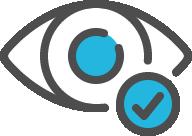 Icon of an eye