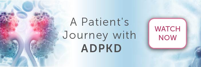 Banner image promoting A Patient's Journey with ADPKD